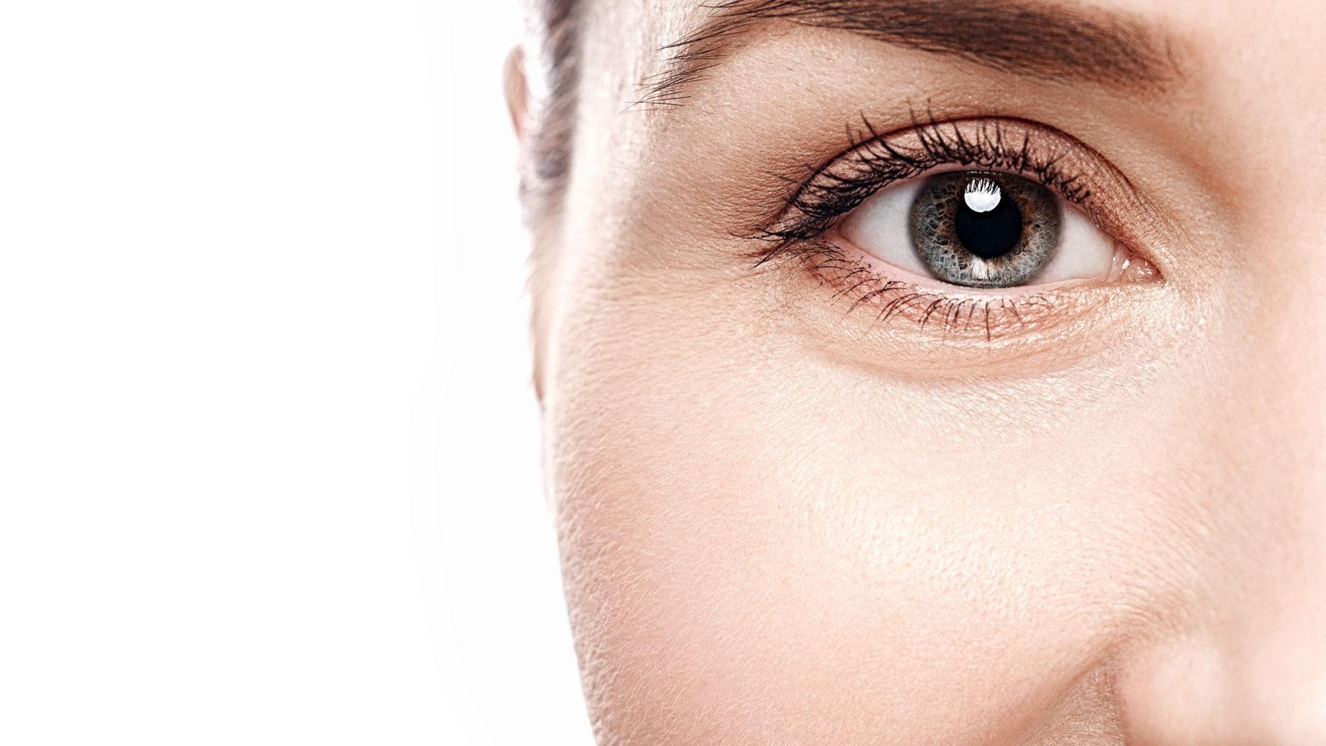 Natural Eye Woman Eyebrow Eyes Lashe